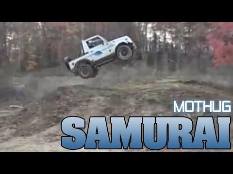 Samurai hill jumps by Mothug Doug!