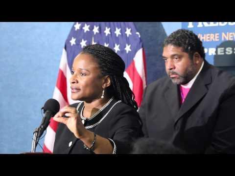 Michelle Laws on historic blockade of Loretta Lynch