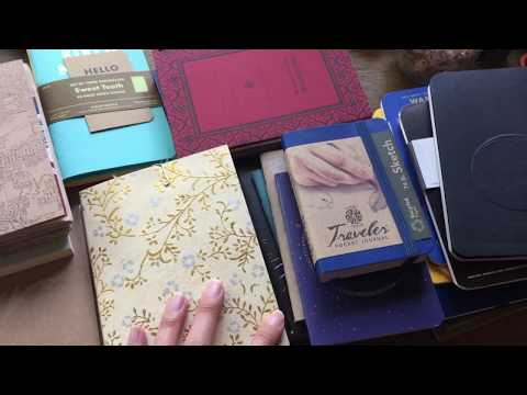 Stationery Minimalism | Blank Notebooks for 2018 | Girl and Quill