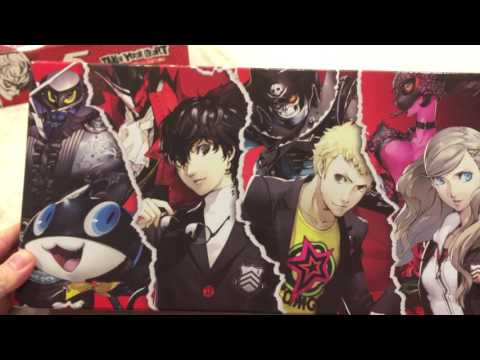 Persona 5 Take Your Heart Premium Edition PS4 Unboxing