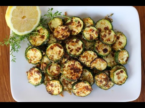 Side Dish Recipe: Lemon, Parmesan, & Thyme Roasted Zucchini by Everyday Gourmet with Blakely