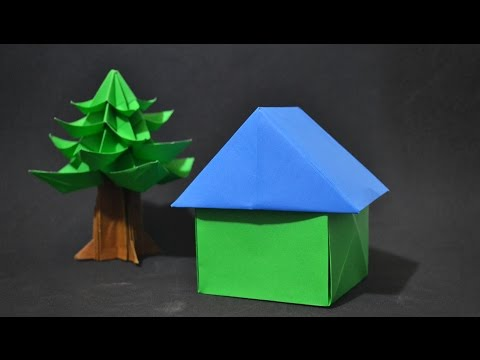 Origami: 3D House - Instructions in English ( BR )