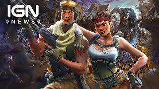 Fortnite Mobile Rakes in $1 Million in First Three Days - IGN News