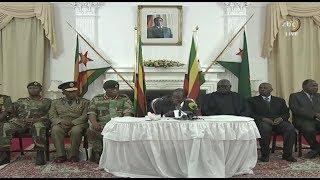 Robert Mugabe remains Zimbabwe president - FULL SPEECH