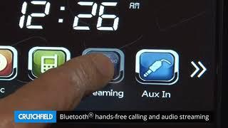 Boss BV765BLC Display and Controls Demo   Crutchfield Video