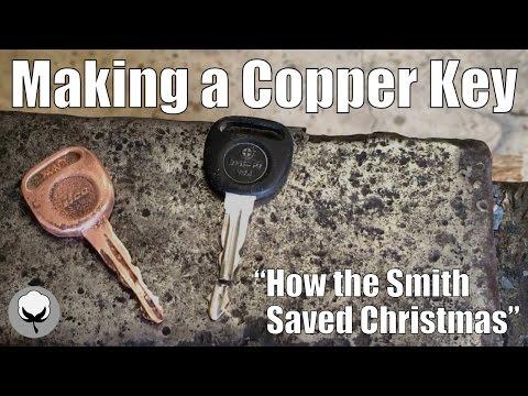 Making a Copper Key -