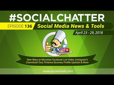 Social Media Marketing Talk Show 136 - Pinterest Business Profiles and the Instagram Export Tool