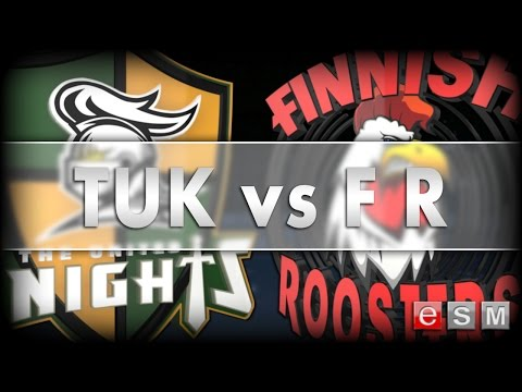 eSM | THE UNITED KNIGHTS vs FINNISH ROOSTERS, 2015-12-14