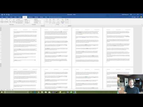 How to REALLY use Microsoft Word: Headers and Footers