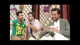 News Host Aadi or Faizan kay Lala Say Kuch Munfarid Sawal..