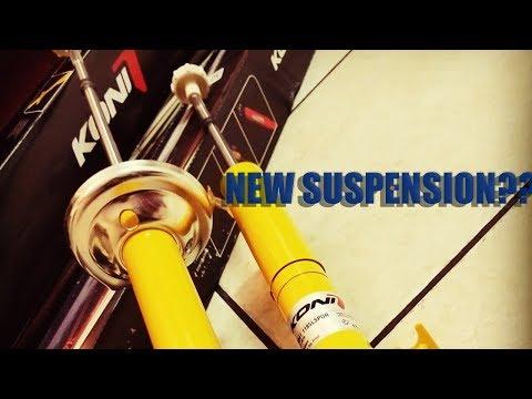 REPLACING EBAY COILOVERS - CB7 Koni Yellow Suspension!