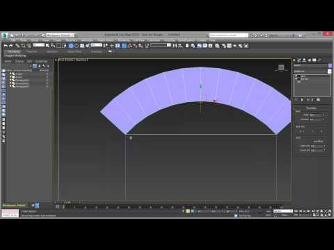 Creating a brick arch in Autodesk 3ds Max