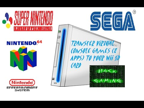 Install and Transfer Nintendo Wii Virtual Console Games to your SD Card