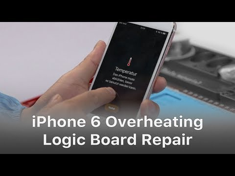 iPhone 6s Overheating And Getting Hot Issue Fix - Exclusive Logic Board Repair