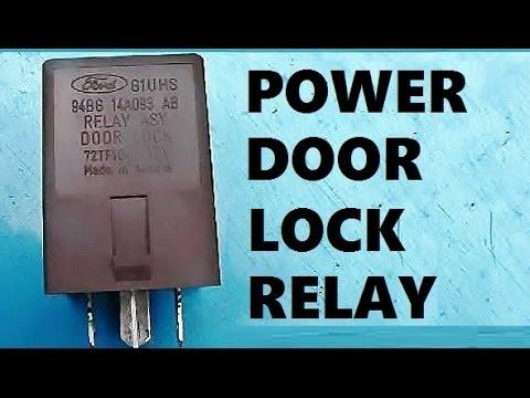 How to Remove Install Power Door Lock Relay