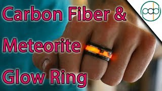 Making a Carbon Fiber and Meteorite Glowstone Ring