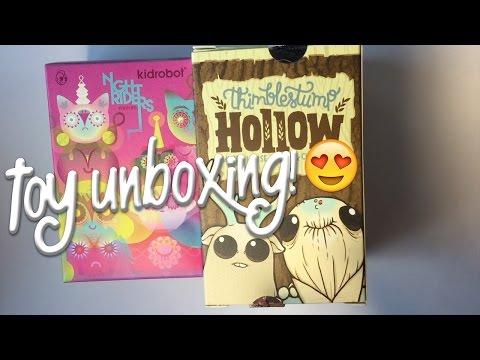 Designer Vinyl Toy Unboxing!