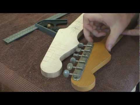 Stratocaster Guitar Build - Part 3 - Building A Stratocaster Guitar Neck