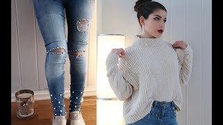 تجديد الملابس الشتوية القديمة 👠👗 موضة 2018
