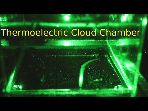 Thermoelectric Diffusion Cloud Chamber