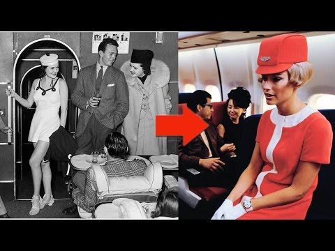 Flight Attendant Uniforms of Past 85 Years to Now