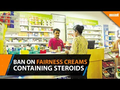 Govt to ban on sale of fairness creams containing steroids