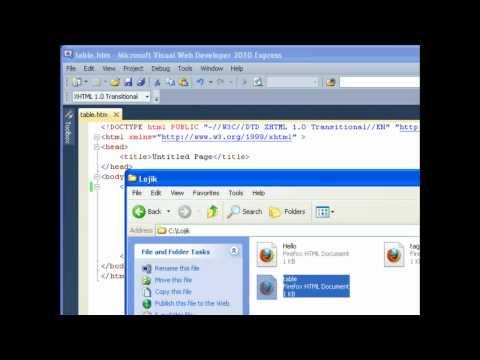 Lojik Kreyol - Web - Lesson 7: HTML Structural Tags / Tag Strikti - Tables/Tab