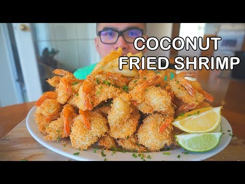 How to make COCONUT SHRIMP & ONION RINGS