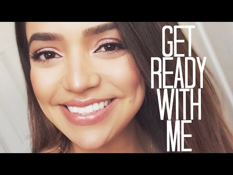 GET READY WITH ME: Everyday Easy, Quick GLOWING Makeup | Milca Rhodes