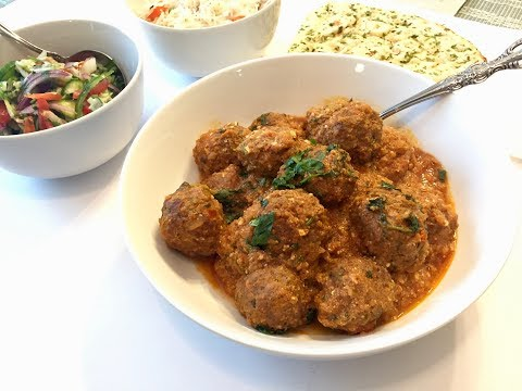 Kofta Curry | Meatballs Curry