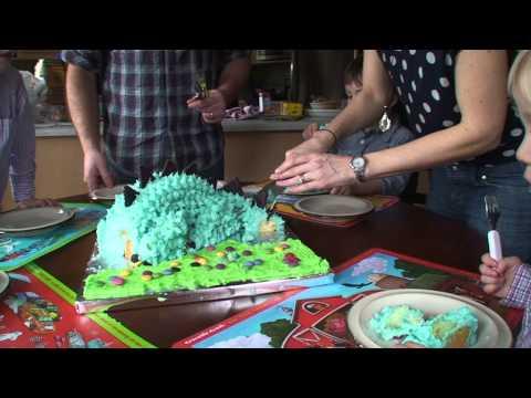 Gramma!  Dino Cake!