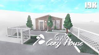 Aesthetic Grey Home 6x6 Challenge 9k Bloxburg Mimi Mclee