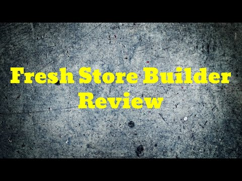 Fresh Store Builder Review On The Best Ecommerce Website Builder