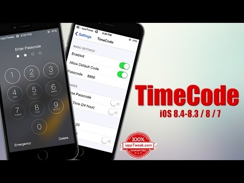 TimeCode tweak lets you use your device's current time as a passcode
