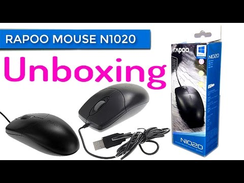 Rapoo Flyshine N1020 Optical Wired Mouse Unboxing  | YES TAMIL