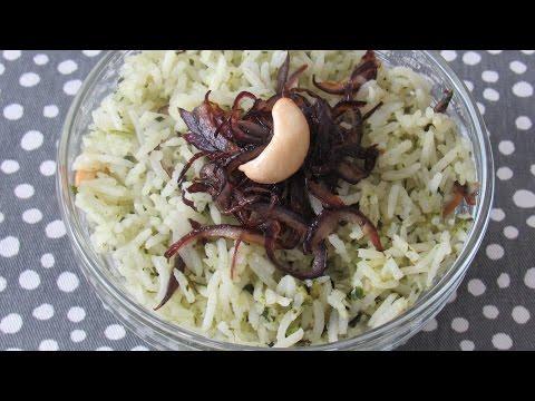 Coriander Rice | Lunch Recipe | Vegetarian