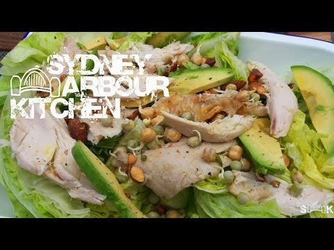 How to make Roast Chicken and Avocado Wedge Salad with the Rural NSW Fire Brigade - SHK Ep 8