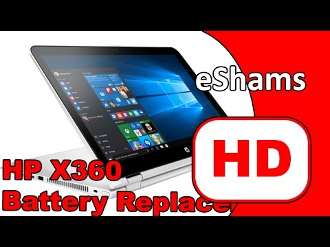 HP Pavilion X360 Battery Replacement