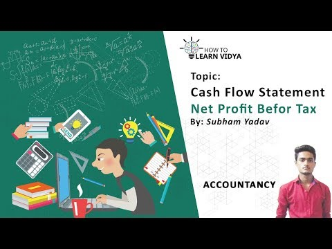Net profit before tax By Shubham Yadav @ How to learn Vidya