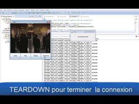 Simple client et serveur de Streaming RTSP MJPEG ( JAVA SE )