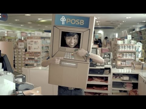 POSB Cash-Point – Your cashier is now your ATM