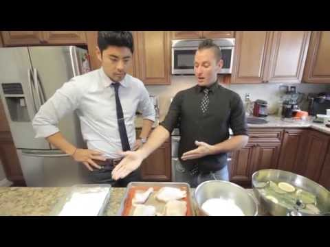 Baked Show - Chicken and Waffles Recipe: 420 Style