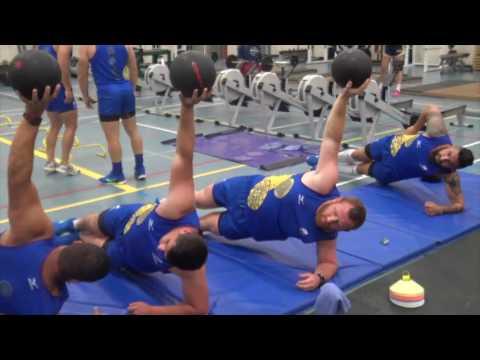 Canada 2017: Antrenament la sala de forta