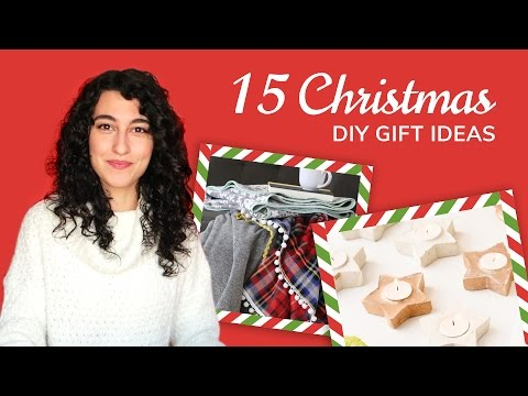 15 DIY Christmas Gifts Everyone Will Love | Gift Ideas