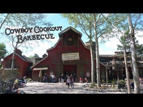 Frontierland - Cowboy Cookout Barbecue - Disneyland Paris