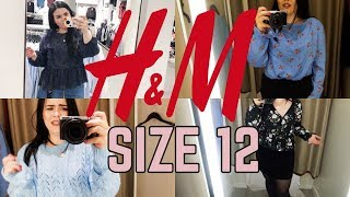 SIZE 12 TRYING H&M | IN-STORE TRY ON HAUL *shocked*