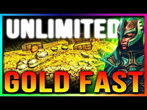 Skyrim Special Edition UNLIMITED GOLD Glitch (TOP 5 Secret Hidden Merchant Chest Glitch Locations)
