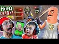 Download Video Download HELLO GRANNY!! a Hello Neighbor Granny's House Mod Mini-Game! Baybee Slendrina FaceTimes FGTEEV! 3GP MP4 FLV