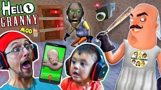 Download HELLO GRANNY!! a Hello Neighbor Granny's House Mod Mini-Game! Baybee Slendrina FaceTimes FGTEEV! Video