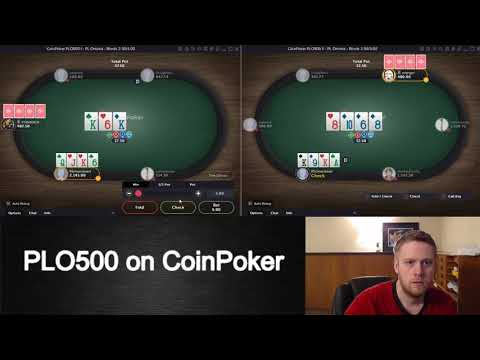 Crypto Currency Games on CoinPoker 2/2